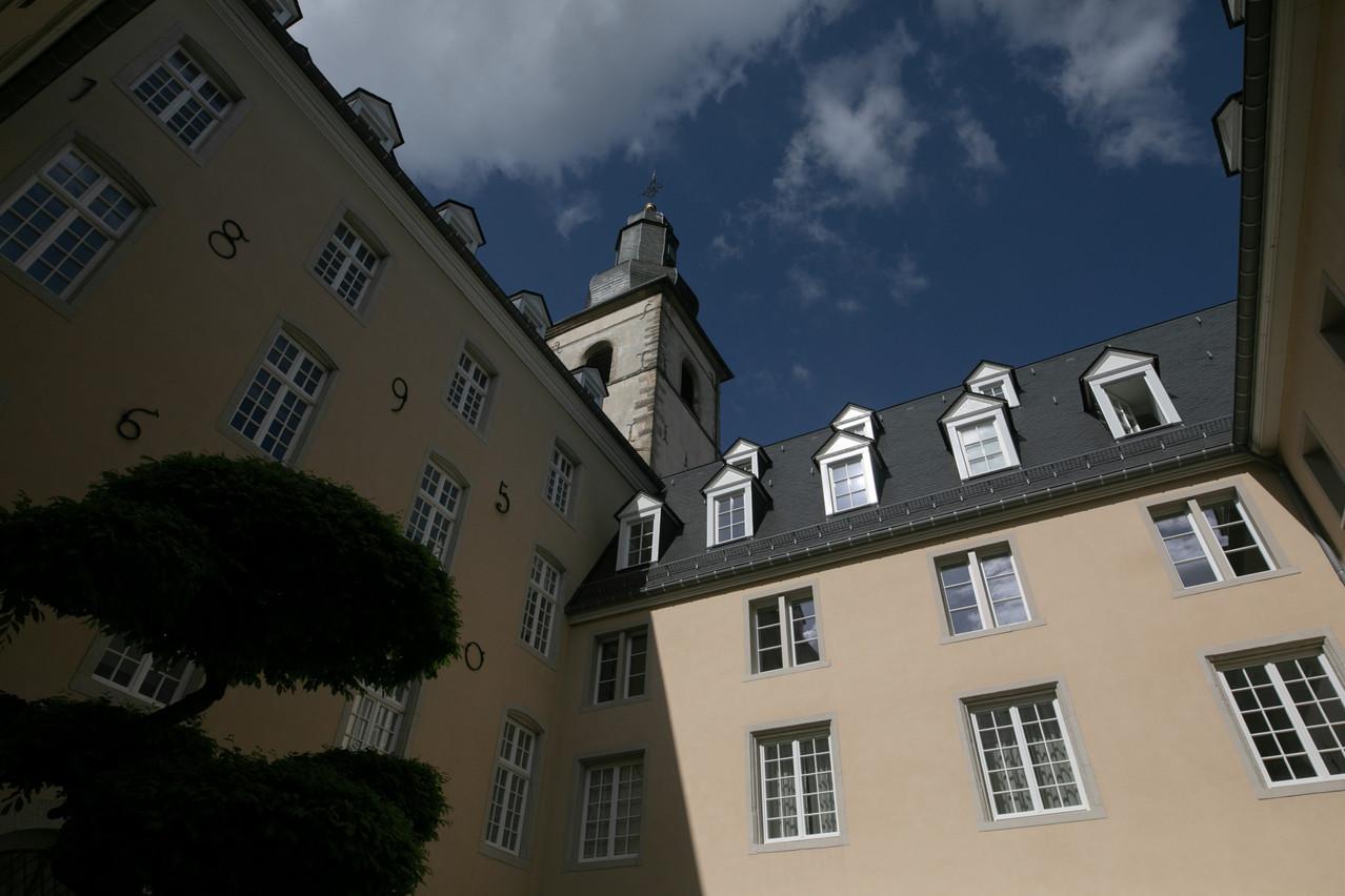 Le cloître Saint-François a été restauré et transformé en logements de haut standing. (Photo: Matic Zorman/Maison Moderne)