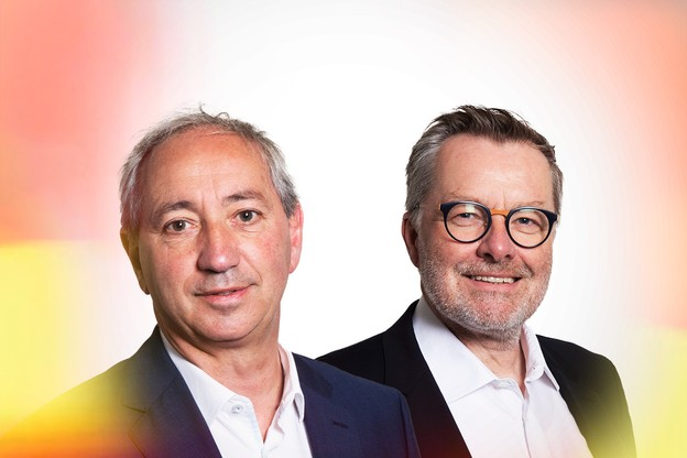 RobertRoux, CEO – System Solutions Luxembourg, & VincentBackes, Country Manager – Hewlett Packard Enterprise. (Photo: Maison Moderne)