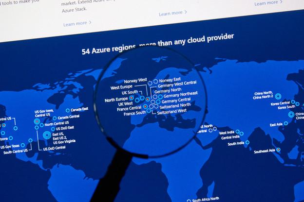 C'est finalementla plate-forme Azure de Microsoft qui a été choisie par Volkswagen pour le projet «Automotive Cloud». (Photo: Shutterstock)