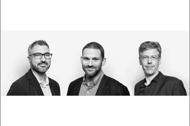 Joachim Bourcy (à gauche):«En tant que concepteurs, nous pensons pouvoir avoir des échanges intéressants et transversaux avec les différents membres lors des événements proposés.» (Photo: Maison Moderne)
