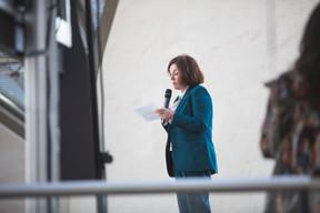 Suzanne Cotter (Mudam) ((Photo: Simon Verjus/Maison Moderne))