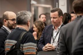 Simon Recher (Hogan Lovells Luxembourg) et Pierre Yves Defosse (Telindus) ((Photo: Jan Hanrion / Maison Moderne))