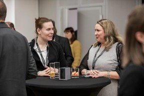 Delphine Vagner (CLC) et Larissa Thomma (Real Estate Imperium) ((Photo: Jan Hanrion / Maison Moderne))