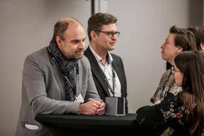 Christophe Biraud (POST), Marc Vanderhoeke (BCEE) , Gaetane Meilleur (AIBM) et Emilie Bertoni (Paperjam Club) ((Photo: Jan Hanrion / Maison Moderne))