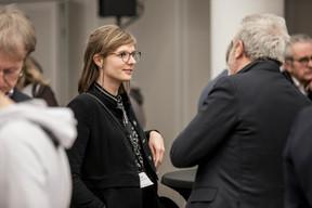 Mathilde Lefebvre (Degroof) ((Photo: Jan Hanrion / Maison Moderne))