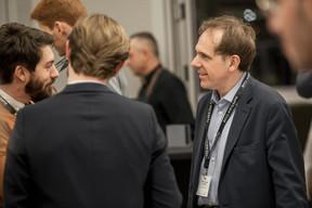 Jean-François Quevrain (Eurocomnetworks) et Vincent-Emmanuel Mathon (VEM Consulting) ((Photo: Jan Hanrion / Maison Moderne))