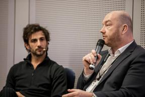 Cyril Paglino (Starchain Capital - The Garage) et Fabrice Croiseaux (InTech) ((Photo: Jan Hanrion / Maison Moderne))