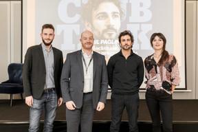 Julien Dickeli (Paperjam Club), Fabrice Croiseaux (InTech), Cyril Paglino (Starchain Capital - The Garage) et Julie Lhardit (Paperjam Club) ((Photo: Jan Hanrion / Maison Moderne))