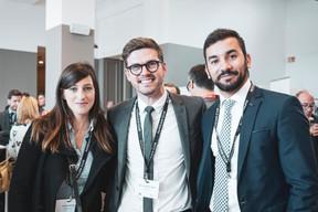 Aurélie Breton, Bruno Van de Vloet et Mohamed Rida Ghali (Advisory Key) ((Photo: Patricia Pitsch / Maison Moderne))