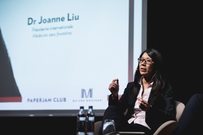 Dr Joanne Liu (Présidente internationale Médecins Sans Frontières) ((Photo: Jan Hanrion / Maison Moderne))