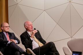 Daniel Riedel et Alain Steichen (Bonn Steichen & Partners) ((Photo: Jan Hanrion / Maison Moderne))