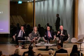 Pol Mellina, Gaëlle Felly, Daniel Riedel, Alain Steichen (Bonn Steichen & Partners) ((Photo: Jan Hanrion / Maison Moderne))