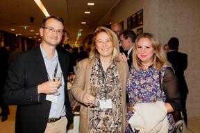 Didier Hermant (IT Perform), Monica Azevedo (Grow to excellence) et Larissa Thomas (Imperium) ((Photo: Jan Hanrion / Maison Moderne))