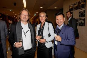Mario di Stefano (DSM Avocats à la Cour), Simône van Schouwenburg (BCEE) et Alex Pham (DSM Avocats à la Cour) ((Photo: Jan Hanrion / Maison Moderne))