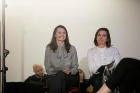 Jessica Bauldry (Delano) et Céline Coubray (Paperjam Architecture + Real Estate ) ((Photo: Jan Hanrion / Maison Moderne))