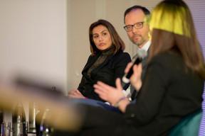 Sheelam Chadha (Patrizia) et Xavier Denis (AG Real Estate) ((Photo: Jan Hanrion / Maison Moderne))