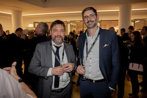Patrick Meyer (Belvedere Architcture) et Torsten Scheuer (VP Bank) ((Photo: Jan Hanrion / Maison Moderne))