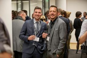Guillaume Bauer et Pierre Brocard (Delux Fund Recruitment) ((Photo: Jan Hanrion / Maison Moderne))