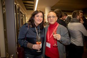 Laurence Brix (INOWAI) et Francis Gasparotto (Maison Moderne) ((Photo: Jan Hanrion / Maison Moderne))