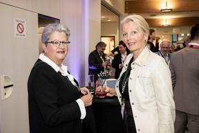 Sylvie Notarnicola (Notarnicola Conseils) et Marianne Van Den Eerenbeemt (Livinlux) ((Photo: Jan Hanrion/Maison Moderne))