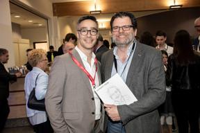 Julien Delpy (Maison Moderne) et Rudy Lafontaine (Dots) ((Photo: Jan Hanrion/Maison Moderne))