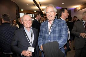 Fernand Ernster (Ernster) et Paul Helminger (Luxair group) ((Photo: Jan Hanrion/Maison Moderne))