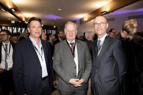 Paul Schergen (SP Engineer), Norbert Geisen (Fédération des Artisans) et Michel Wurth (ArcelorMittal) ((Photo: Jan Hanrion/Maison Moderne))