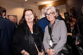 Karin Schintgen (House Of StartUps) et Ingrid Bettendorf (Firstfloor) ((Photo: Jan Hanrion/Maison Moderne))