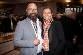 Romain Poulles (Progroup) et Laetitia Poulles ((Photo: Jan Hanrion/Maison Moderne))