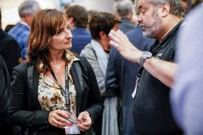 Catherine Papp (Key-Way) et Brent Frère (Abil'I.T.) ((Photo: Jan Hanrion/Maison Moderne))