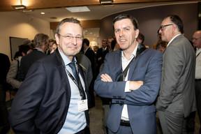 Jean Toussaint (BCEE), à gauche ((Photo: Jan Hanrion/Maison Moderne))