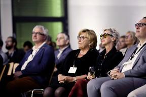 Pia Nilles (Tzwee) et Laurent Nilles (Prefalux), à droite ((Photo: Jan Hanrion/Maison Moderne))