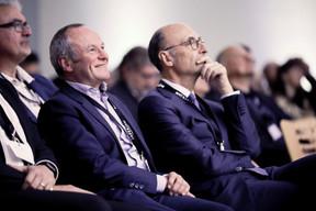 Fernand Ernster (Ernster) et Michel Wurth (ArcelorMittal) ((Photo: Jan Hanrion/Maison Moderne))