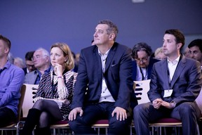 Martine Neyen (Ondine Conseil), Romain Schmit (Fédération des Artisans) et Tom Baumert (Chambre de Commerce) ((Photo: Jan Hanrion/Maison Moderne))