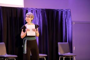 Anne-Claire Delval (Co-auteur du livre) ((Photo: Jan Hanrion/Maison Moderne))