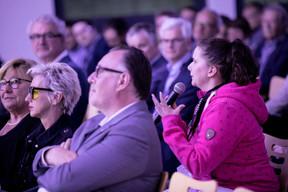 Pia Nilles (Tzwee), Laurent Nilles (Prefalux) et Xenia Simon (Studio3 - Agence et Atelier publicitaire), à droite ((Photo: Jan Hanrion/Maison Moderne))