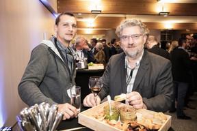 Eric Balle (Afordia), à droite ((Photo: Jan Hanrion/Maison Moderne))