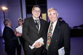 Swen Clement (Député Piraten) et Norbert Friob (Multi-Entrepreneur) ((Photo: Jan Hanrion/Maison Moderne))
