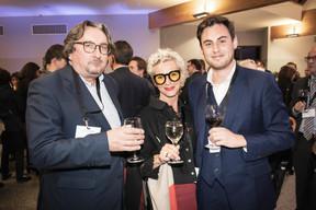 Jean Diederich (Wavestone), Pia Nilles (Tzwee) et Frédérico De La Rosa (Wastone) ((Photo: Jan Hanrion/Maison Moderne))