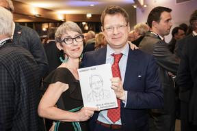 Anne-Claire Delval  et Jean-Michel Gaudron (Co-auteurs du livre) ((Photo: Jan Hanrion/Maison Moderne))