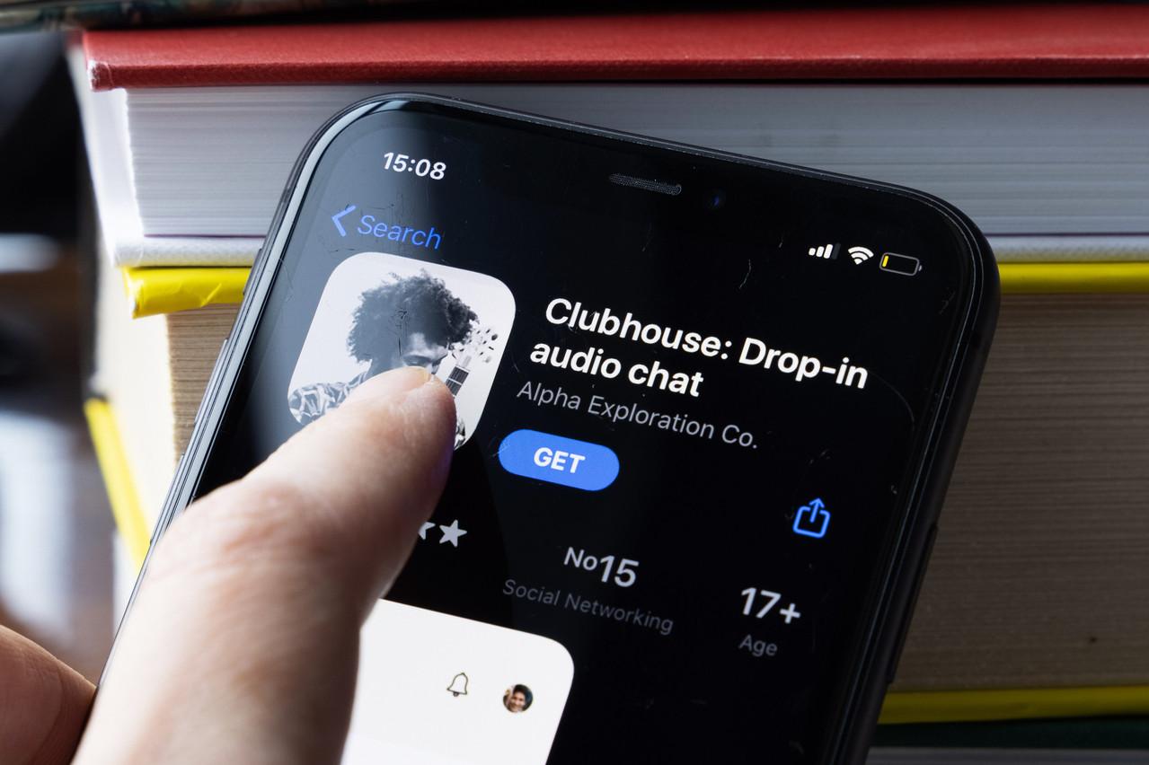 Toujours en phase de test, l'application de chat audio est dans le viseur de ses concurrents potentiels, Facebook et Twitter, et dans celui des autorités chinoises. (Photo: Shutterstock)