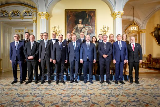 Le gouvernement avait prêté serment devant le Grand-Duc le 5 décembre2018. (Photo: Patricia Pitsch / Maison Moderne / Archives)