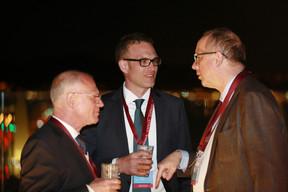 Hans Peter Maier (Somaco), Philippe Schmidt (Somaco) et François Pauly (Lalux) ((Photo: Valéry Trillaud))