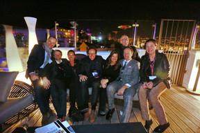 Didier Peremans (DDS+), Jean Leclercq (Ulink), Paul Stasse (aCMG), Marie-Noelle Lemerle, Patrick Le Merle, Cédric Callens (A2RC) et Laurence Brix (Inowai) ((Photo: Valéry Trillaud))