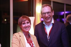Natalie Desmedt et Alex Dewitte (Baltisse) ((Photo: Valéry Trillaud))