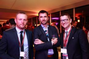 Jean-Nicolas Montrieux (Inowai), Jerom Simon (IRET) et Erwan Loquet (BDO) ((Photo: Valéry Trillaud))
