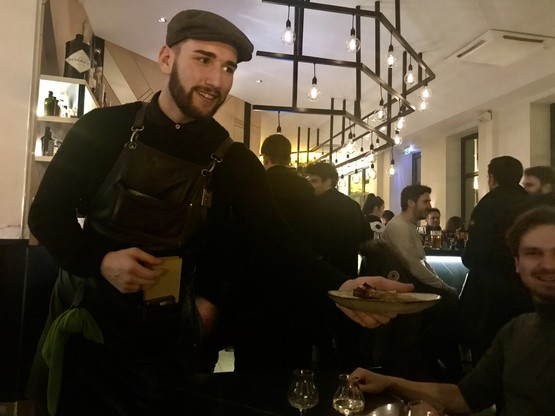 Enchaînement de 6 services audacieux et gourmands pour le premier accord mets-cocktail au Paname. (Photo: Maison Moderne)