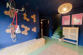 Le hall d'entrée, où des vélos vintage seront mis à disposition des «colivers». ((Photo: Cocoonut))