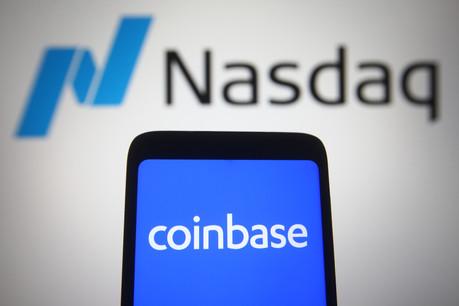 Le 15 avril, Coinbase est entrée en bourse avec une valorisation de 86milliards de dollars, quatre de plus que Facebook en 2012. Mais elle va aller plus loin avec les security tokens. (Photo: Shutterstock)