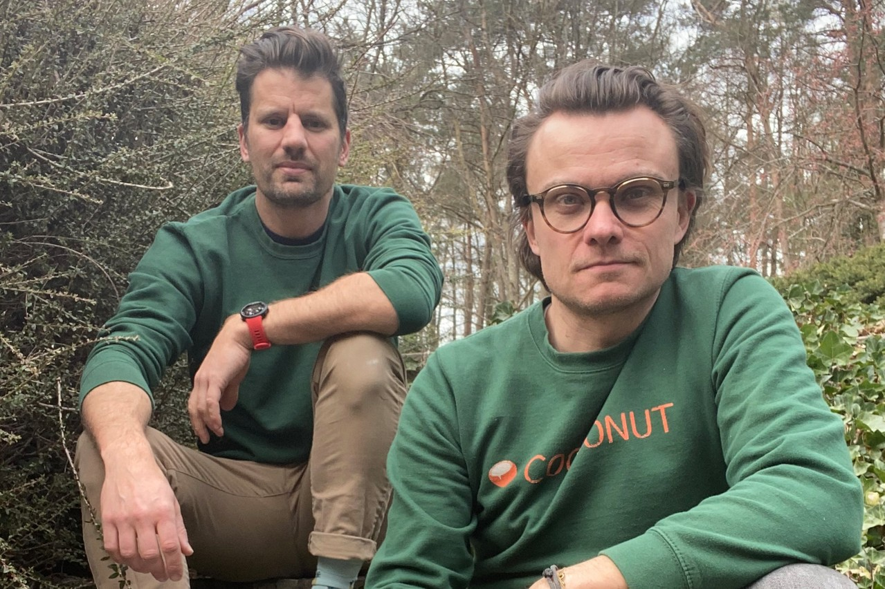 Nicolas Legay et Aurélien Dobbels, Co-Founders Cocoonut. Cocoonut